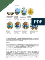 Evolución del escudo nacional