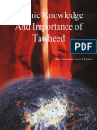 Islamic Knowledge And Importance Of Tawheed