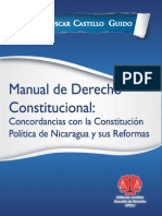 Manual de Derecho Constitucional - Oscar Castillo - Nicaragua