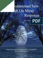 Did Muhammad Saw Allah On Miraj Response