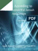 Iman According To Ahlus Sunnah Wal Jamaah And Groups