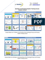 Centrifugal Pumps and Pumping Training Screens