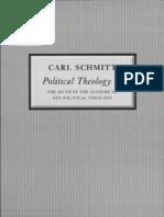 Schmitt - Political Theology II