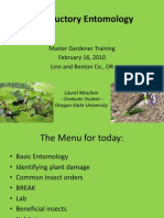 Introductory Entomology