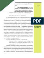 Revista Griot Artículo de Revista Profesional