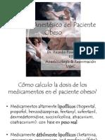 Manejo Anestésico del Paciente Obeso.pptx