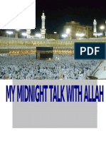 My Midnight Talk With Allah