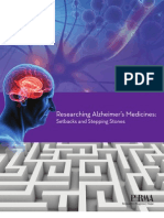 Researching Alzheimer's Medicines - Setbacks and Stepping Stones