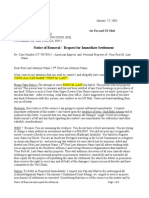 Part2. Roger_Elvick_Notice of Removal to Attorney-Amex_Video