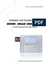 Ultisolar New Energy SR1188 Solar Water Heater Controller Manual