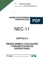 (NEC2011-CAP.3-RIESGO SÍSMICO, EVALUACIÓN Y REHABILITACIÓN DE ESTRUCTURAS-021412)