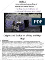 Rap and Hip-hop Assignment 2.3