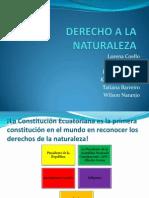 DERECHO a LA NATURALEZA Ab Villegas Exposicion Grupo 3