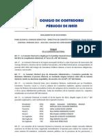 Reglamento Comite Electoral Ccpj
