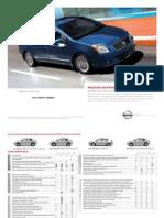 Brochure Sentra 2009