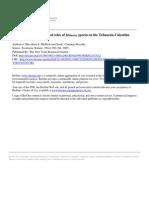 Roles Culturales y Ecologicos de Mimosa