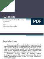 CA Colon Presentasi