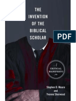The Invention of Biblical Scholar (excerpt)