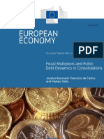 Fiscal Multipliers and Public Debt Dynamics in Consolidations