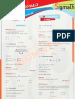 Solucionario 1er Examen - Matematica - Cpu - Sigmath 2011 - II