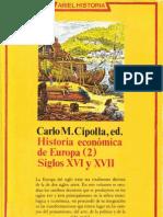 Cipolla Carlo M - Historia Economica de Europa 2 - Siglos 16 Y 17