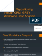 Strategic Repositioning Through CRM- GREY Worldwide Case Analysis -Final-V1