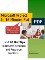 Msproject2010 in 16 Minutes Flat