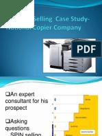 National Copier Case Study-sales Effectiveness