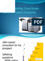 National Copier Case Study-sales Effectiveness