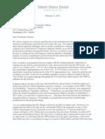 24 Senators Letter To USPS on Saturday Delivery 2-15-13