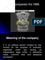 Copy of Indian Companies Act 1956