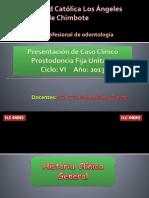Caso Clinico Rossana Prostodonsia