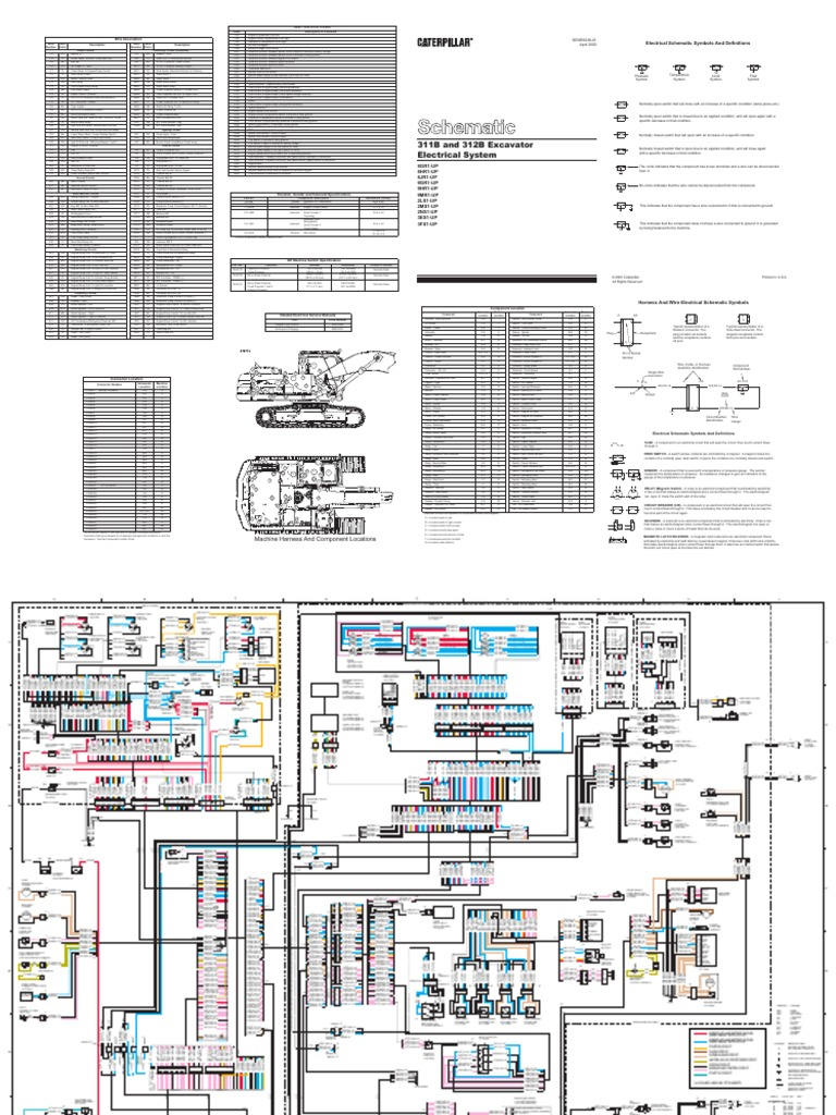 Cat 312b Fuel System Diagram Experience Of Wiring Engine Line Pdf Rh Scribd Com Parts 3406