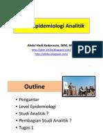 Studi Epidemiologi Analitik- DIII Smt 3 TA 2012-2013 - SP Feb 2013