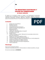 Análisis de Registros Eléctricos Programa y CV