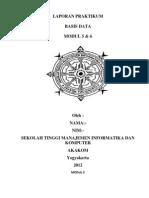 Laporan Praktikum Basis Data 5&6