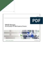 05 - WPAR Manager Overview - Workshop