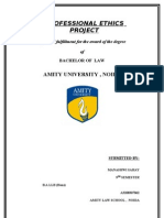 75986140 Professional Ethics Project