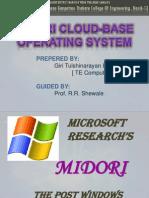 Midori cloud base os