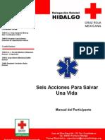 Manual Seis Acciones. Manejo Inicial de Lesiones