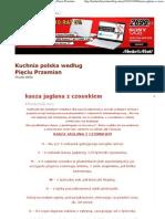 kasza jaglana z czosnkiem _ Kuchnia polska według Pięciu Przemian