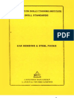 Bar Bending and Steel Fixing Skill Standards