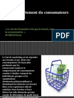 Le Comportement Du Consumateurs