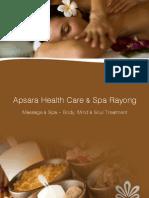 Spa and massage Ban Phe, Rayong