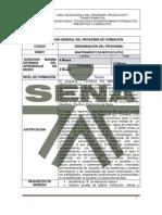 Estructura Curr. Sena