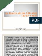 Unidad 8 La Guerra de los 100 años - Laura Múnera Pavón