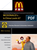 MC Donalds in China