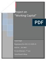 Revised Working Capital