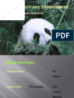 Bio Diversity and Environment