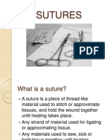 Sutures 1
